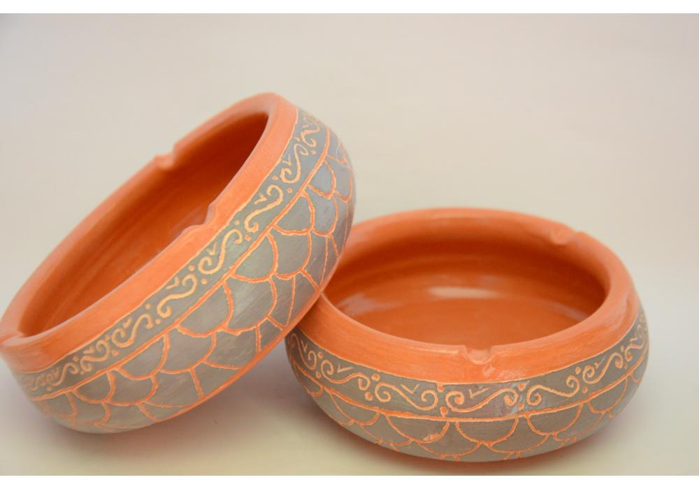 Pottery Ashtrey