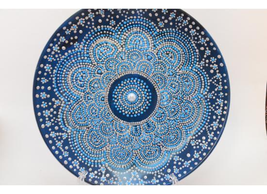 Ceramic Mandala dotted plates