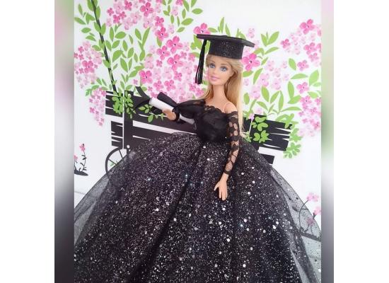 Clothes Dress  Girl Doll - Fashion Handmade Wedding Evening Party Dress