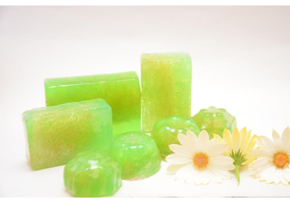Herbal Natural Soap/Nature Green Handmade Organic Body Care Soap
