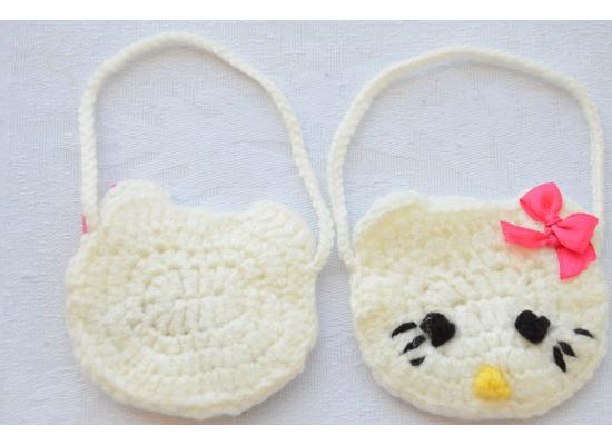 "12 Pack Cute Mini Baby Girl bags ""Hello Kitty"" Gift for Guests Keepsake Gift- Baby Shower Party Decorations"