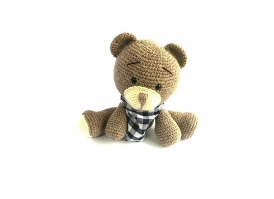 Handmade Amigurumi Stuffed Toy Knit Crochet Bear