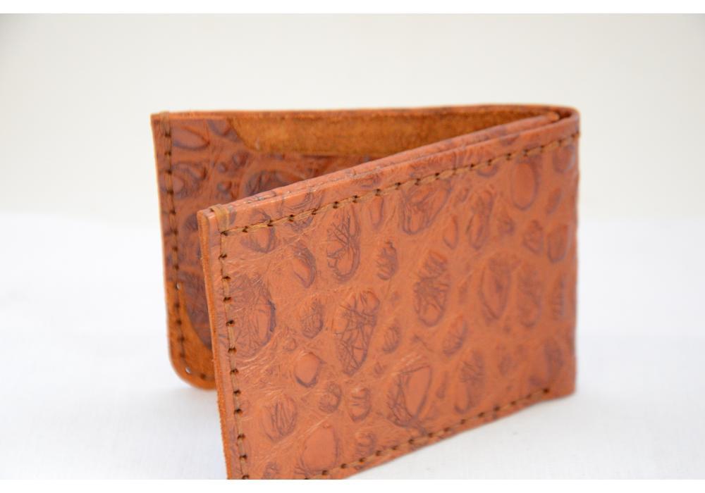 Genuine Leather Wallet for Men Camel Color