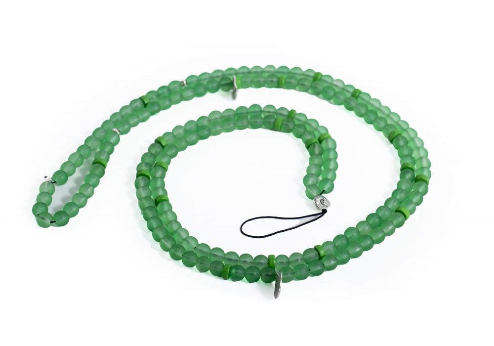 Handcrafted Bead | With Unique Colors & Stones | Color Green