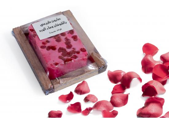 Oats & Rose Water Natural Soap
