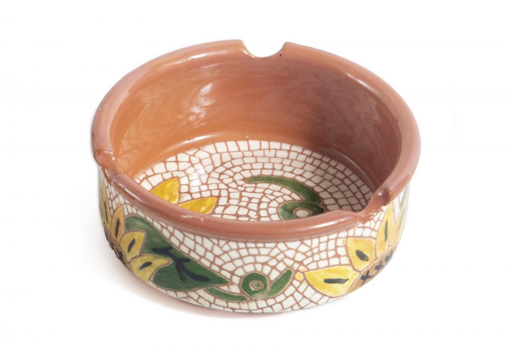 Pottery Ashtray   Set of 2   Item No.002