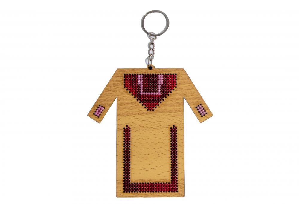 Embroidered Key Hanger   Traditional Dress Design