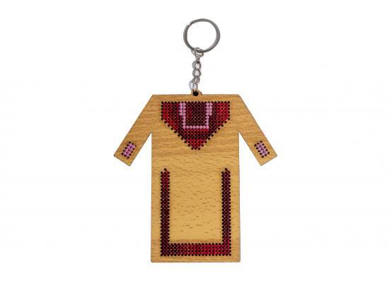 Embroidered Key Hanger | Traditional Dress Design
