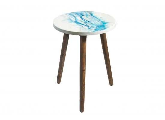 Epoxy Resin Top Wooden Table | Home Decoration