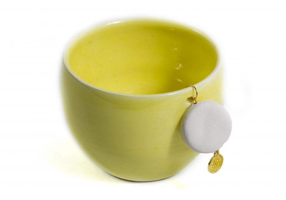 Crockery Bowl   Yellow Color