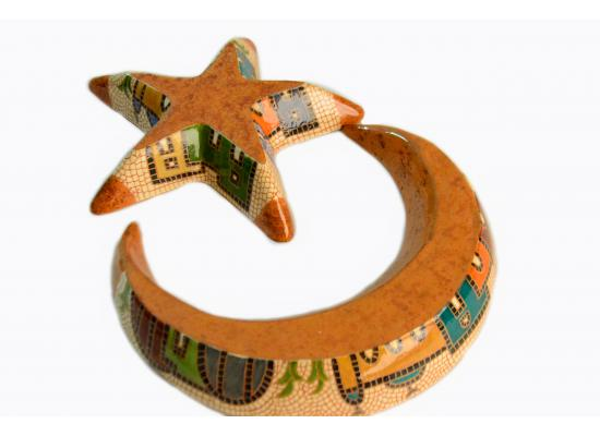 Crescent and Star Tray Set | Moon and Star Tray Hostess Gift | House Warming Gift | Ramadan Gift | Iftar Party Gift | Eid Gift