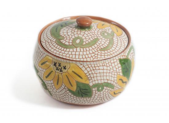 Handmade ceramic dessert bowl | Snack & Cookies bowl | dates pot |  Small serving bowl | Item No.002