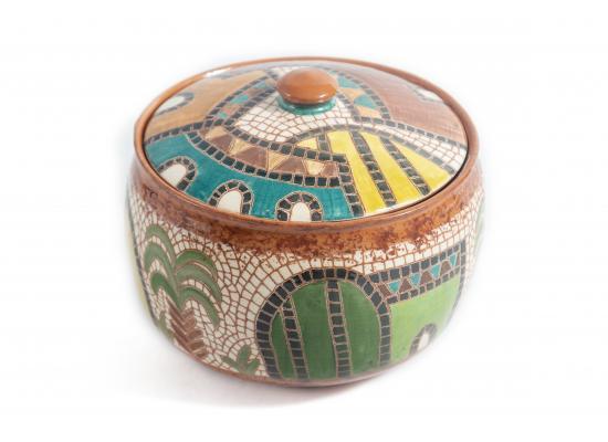Handmade ceramic dessert bowl | Snack & Cookies bowl | dates pot  Small serving bowl | Item No.001