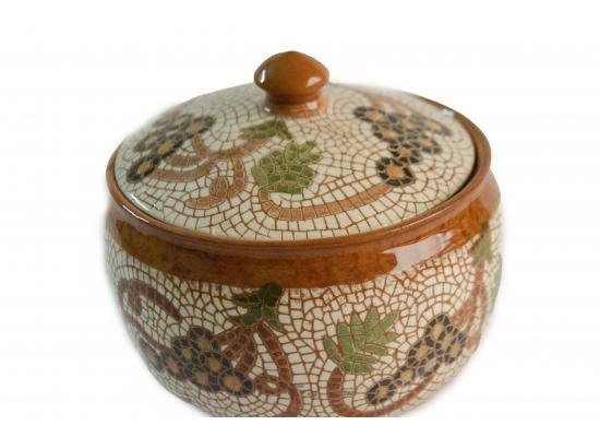 Handmade ceramic dessert bowl / Snack & Cookies bowl / dates pot  Small serving bowl / Birthday gifts | Item no. 001
