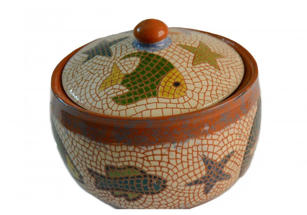 Handmade ceramic dessert bowl / Snack & Cookies bowl / dates pot  Small serving bowl / Birthday gifts| Item No.003