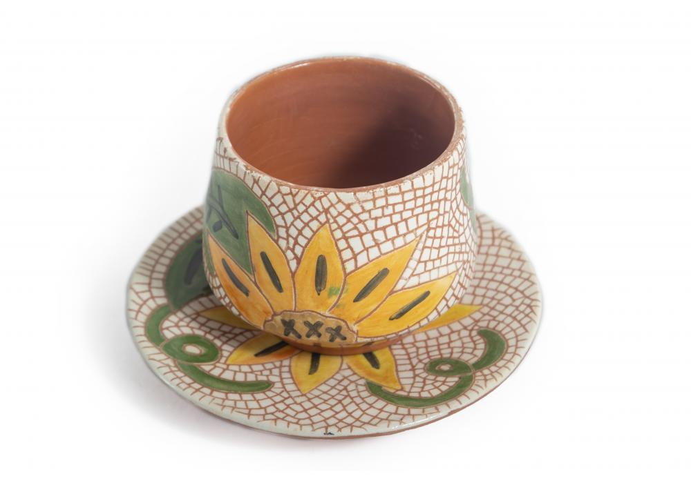 Cactus Jars - Pottery Handmade - Nice Designs for Home Decoration Garden   Item No.002